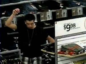 Dancing Shoplifter