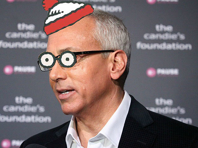 Dr. Drew Pinsky as 'Where's Waldo?'