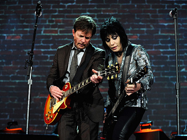 Joan Jett Michael J Fox