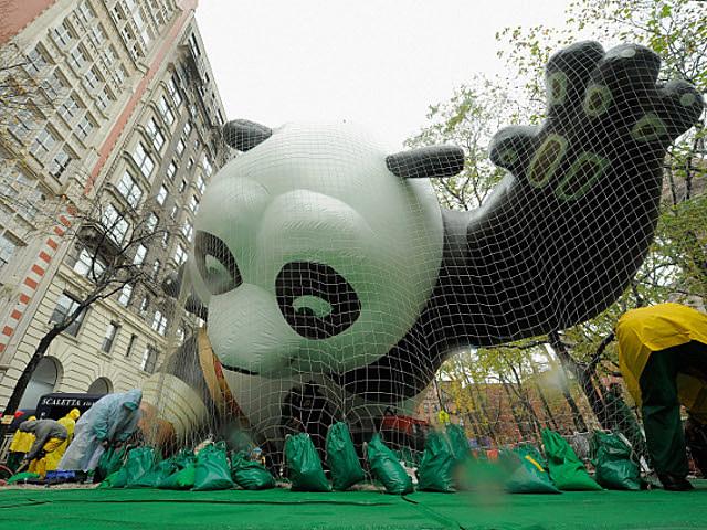 Kung Fu Panda Macy's Parade