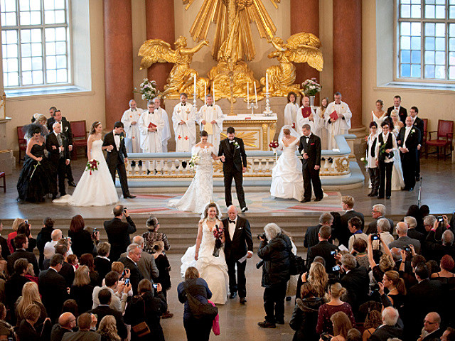 Mass Wedding 11/11/11