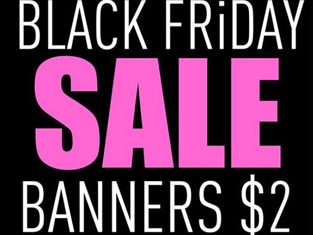 Black, Friday, shopping, sale, banner