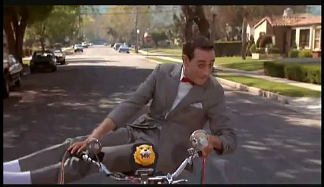 PeeWee Herman bicycle