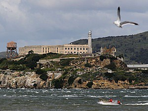 alcatraz island san francisco california unthanksgiving day