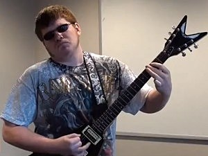 15-Year-Old Blind Guitarist Tony