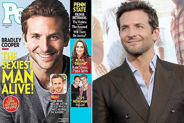 Bradley Cooper, People's Sexiest Man Alive