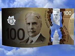 canaday money plastic polymer 100 note