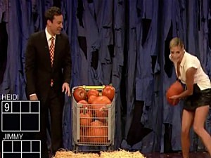 Jimmy Fallon and Heidi Klum