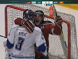 hockey hug