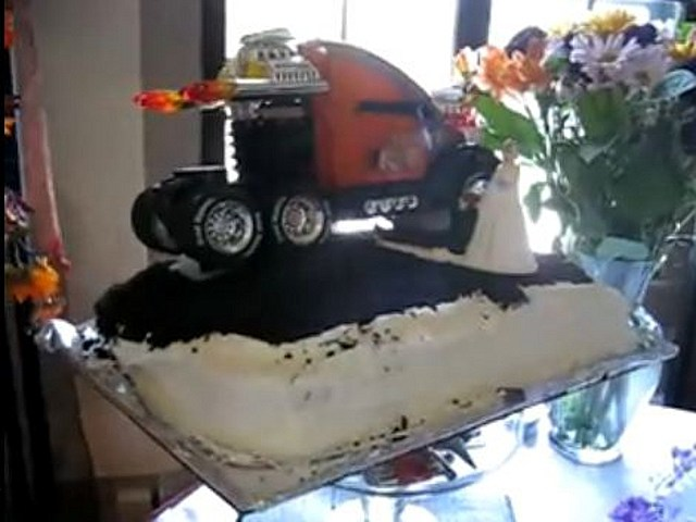 wedding cake toppers pickup truck truck wedding cakes www pixshark images 26578