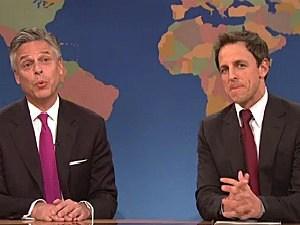Jon Huntsman, Seth Meyers