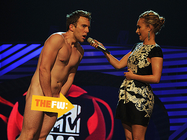 streaker europe mtv music awards