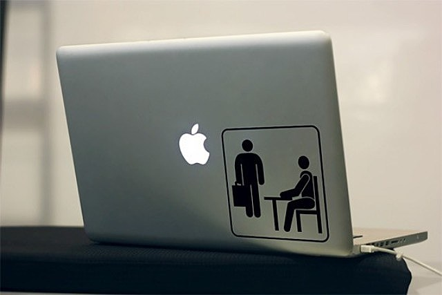 The Office, laptop, computer, Macbook, decal, sticker