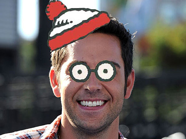 Zachary Levi as 'Where's Waldo?'