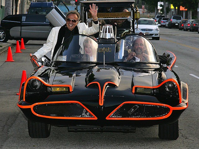 batmobile george barris adam west television batman lincoln futura