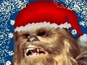 Chewbacca Sings 'Silent Night'