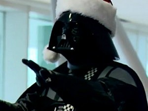 Darth Vader Conducts Christmas Choir