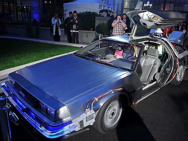 back to the future delorean car time machine marty mcfly doc brown