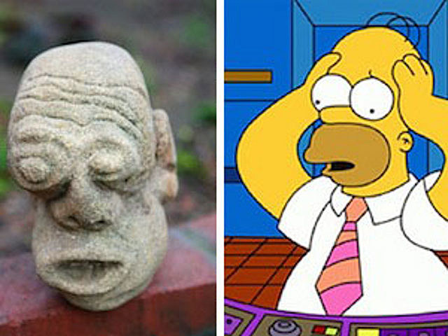 Homer rock head
