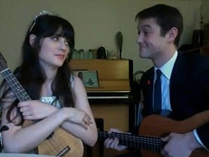 Zooey Deschanel Joseph Gordon-Levitt
