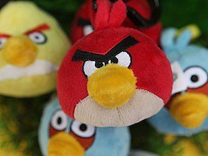 angry  birds christmas lights display Pomplamoose