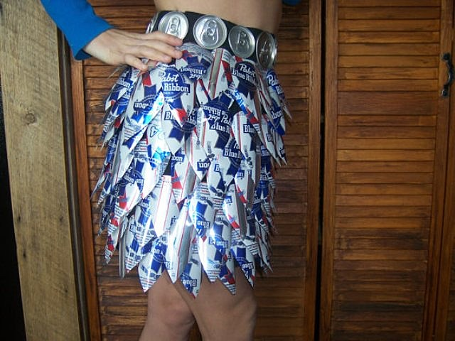 New Year's Eve, beer cans, party
