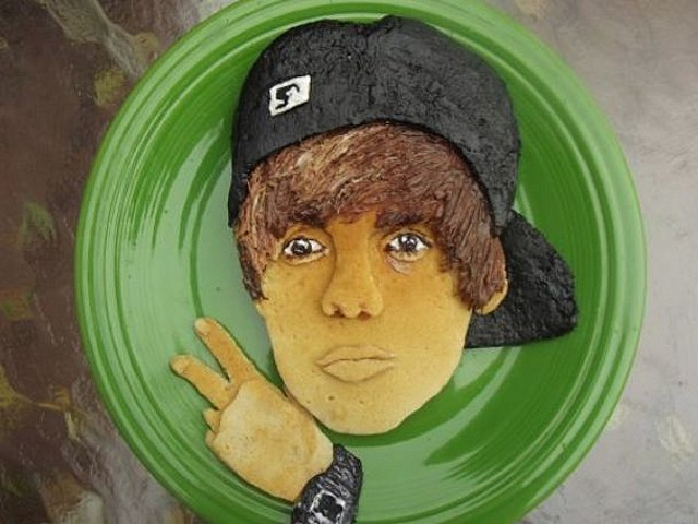bieber pancake