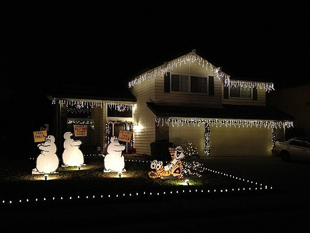 calvin and hobbs christmas lights