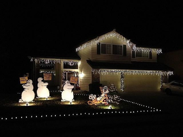 calvin and hobbs christmas lights