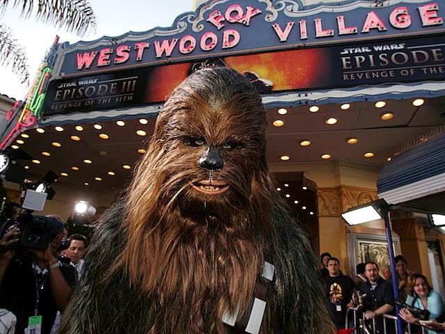 chewbacca star wars episode III glee