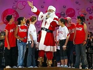 santa claus coca-cola christmas