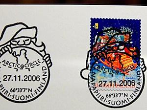 santa letter stamp
