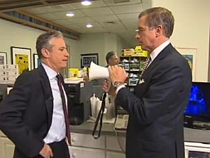 Jon Stewart, Brian Williams