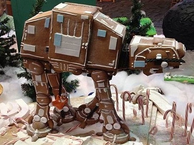 gingerbread AT AT