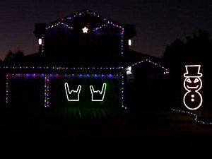 heavy metal christmas lights