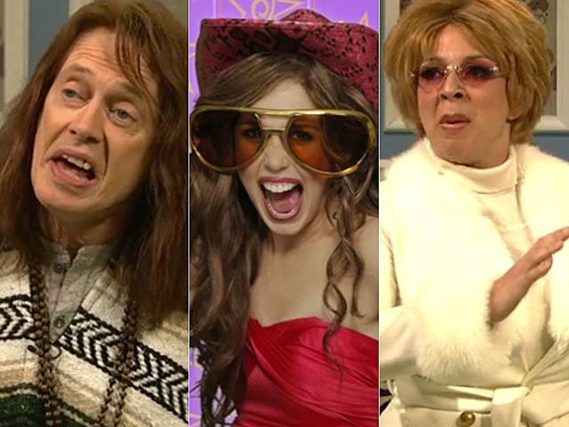 Miley Cyrus, Steve Buscemi, Whitney Houson, SNL