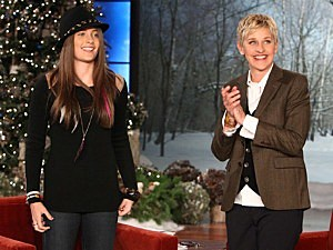 Paris Jackson and Ellen