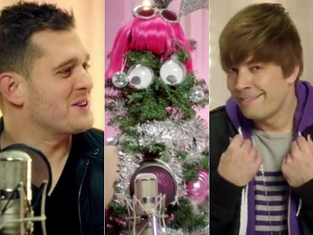 'SNL' Michael Buble, Lady Gaga, Justin Bieber