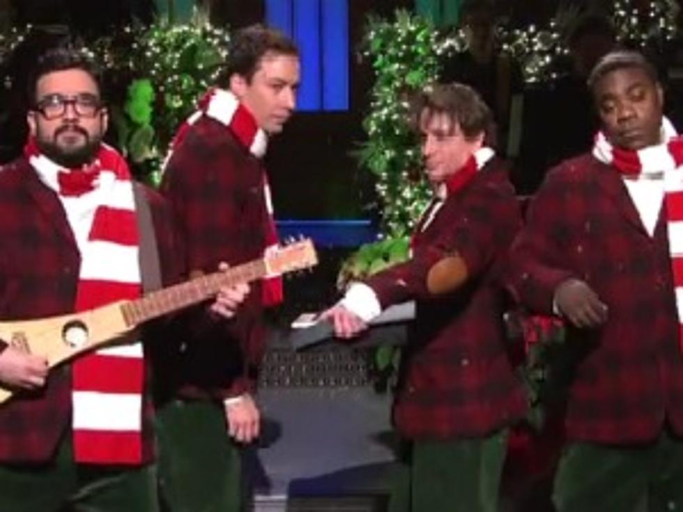 jimmy fallon brings back the famous i wish it was christmas today on snl video