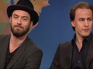 Jude Law and Nicolas Cage