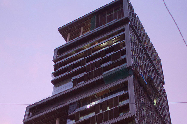 Mukesh Ambani house in India