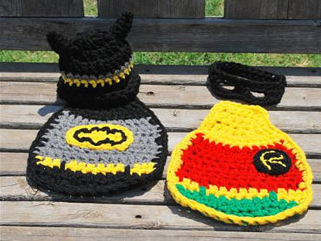 Batman and Robin Crochet
