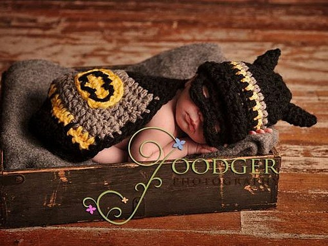 Batman crochet