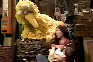 Big Bird Breast Feeding