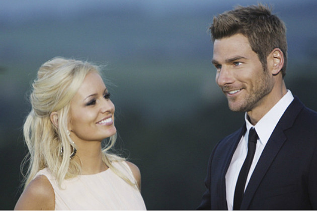 Emily Maynard and Brad Womack on ABC's 'The Bachelor'