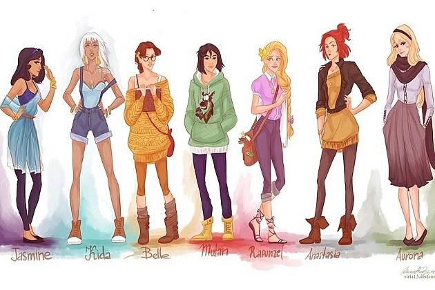 Hipster Disney 1