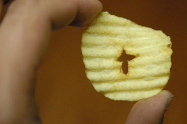 Jesus chip for sale on eBay