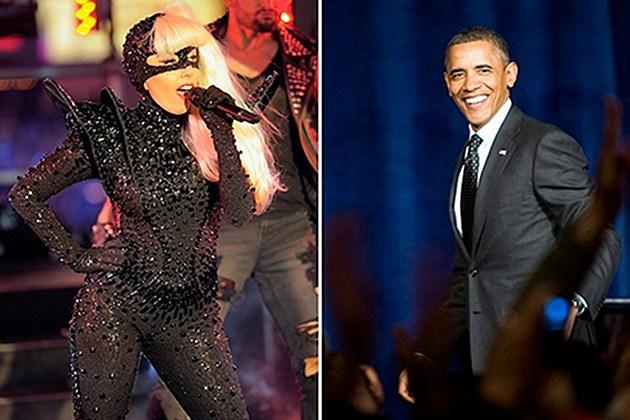 Lady Gaga Obama