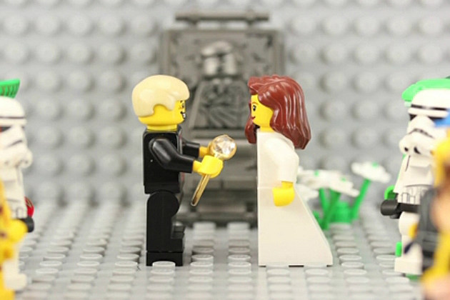 Man Proposes With Stop-Motion Lego Movie
