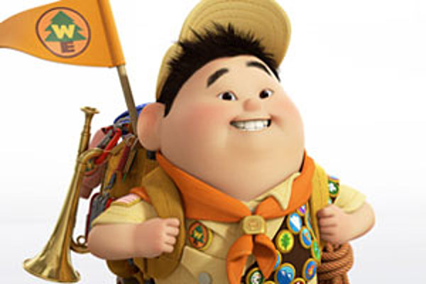 wondering what russell the kid from �up� looks like in